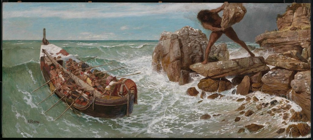 Odysseus greek mythology summary